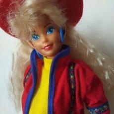 Barbie y Ken: BENETTON BARBIE 1991 SUPERSTAR VINTAGE MATTEL 90S. Lote 221724731