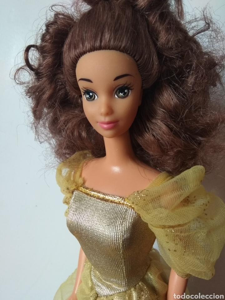 Barbie y Ken: Muñeca Bella y Bestia Mattel 1992 Barbie Vintage - Foto 2 - 221725030