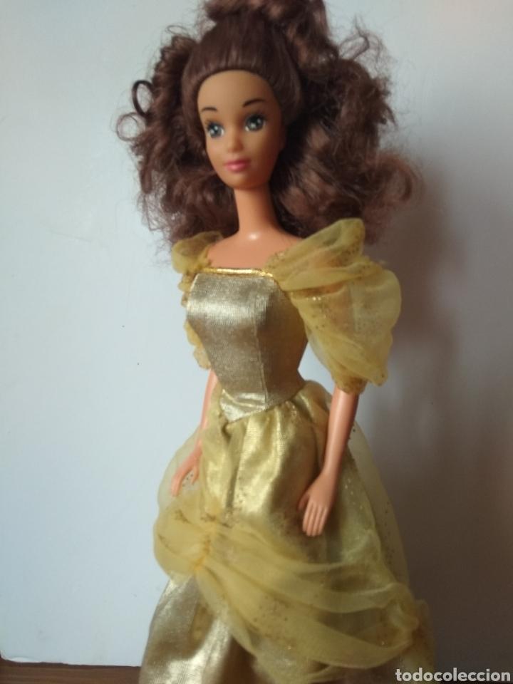 Barbie y Ken: Muñeca Bella y Bestia Mattel 1992 Barbie Vintage - Foto 3 - 221725030