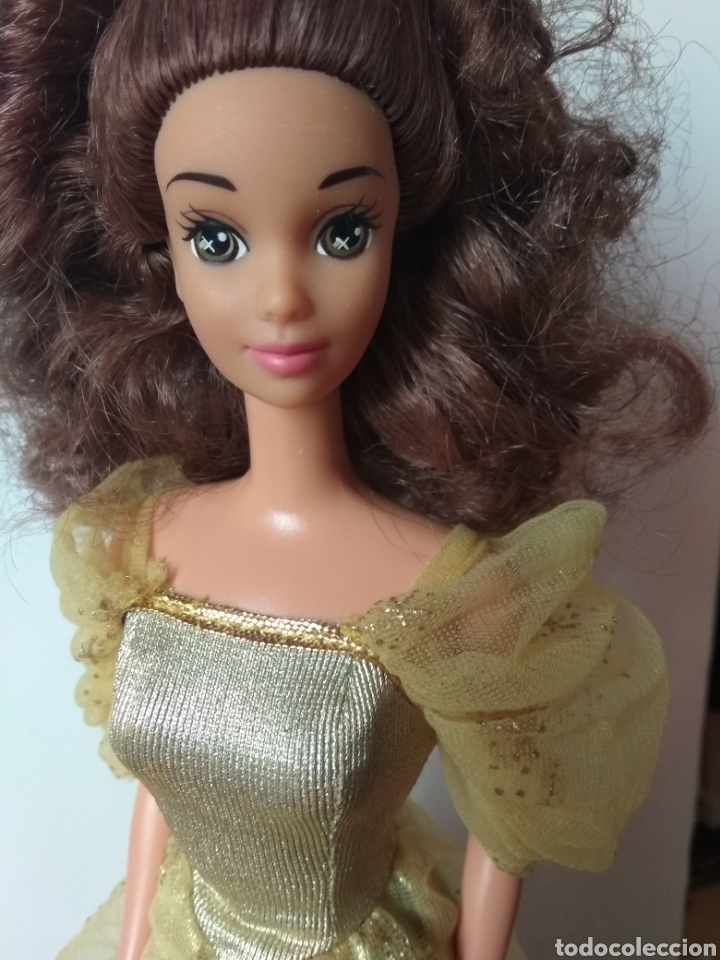 MUÑECA BELLA Y BESTIA MATTEL 1992 BARBIE VINTAGE (Juguetes - Muñeca Extranjera Moderna - Barbie y Ken)
