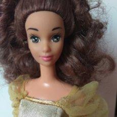 Barbie y Ken: MUÑECA BELLA Y BESTIA MATTEL 1992 BARBIE VINTAGE. Lote 221725030