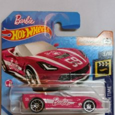 Barbie y Ken: COCHE HOT WEELS BARBIE 4 CORVETTE STINGRAY. Lote 221831883