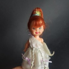 Barbie y Ken: MUÑECA SHELLY KELLY HERMANA BARBIE RAPUNZEL. Lote 221832003