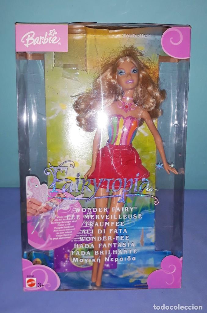 BARBIE FAIRYTOPIA DE MATTEL CON SU CAJA ORIGINAL (Juguetes - Muñeca Extranjera Moderna - Barbie y Ken)