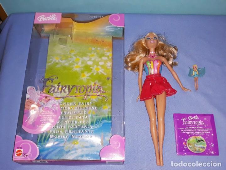 Barbie y Ken: BARBIE FAIRYTOPIA DE MATTEL CON SU CAJA ORIGINAL - Foto 2 - 221924618