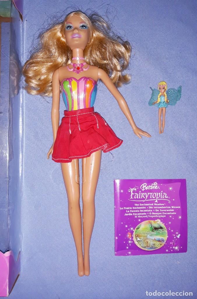 Barbie y Ken: BARBIE FAIRYTOPIA DE MATTEL CON SU CAJA ORIGINAL - Foto 3 - 221924618
