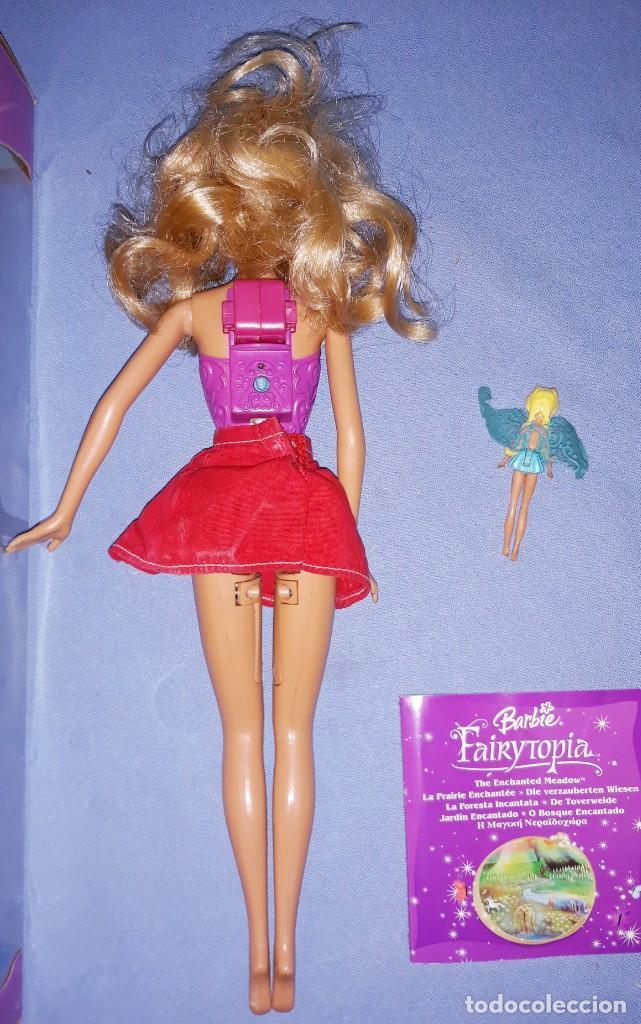 Barbie y Ken: BARBIE FAIRYTOPIA DE MATTEL CON SU CAJA ORIGINAL - Foto 4 - 221924618