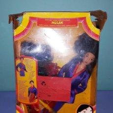 Barbie y Ken: BARBIE MULAN DISNEY DE MATTEL CON SU CAJA ORIGINAL. Lote 221925223