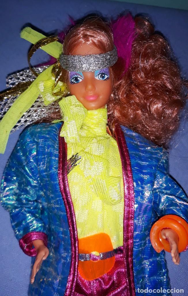 ANTIGUA DIVA ROCKERS DE BARBIE DE MATTEL ORIGINAL AÑO 1985 ROCK STARS MADE IN SPAIN (Juguetes - Muñeca Extranjera Moderna - Barbie y Ken)