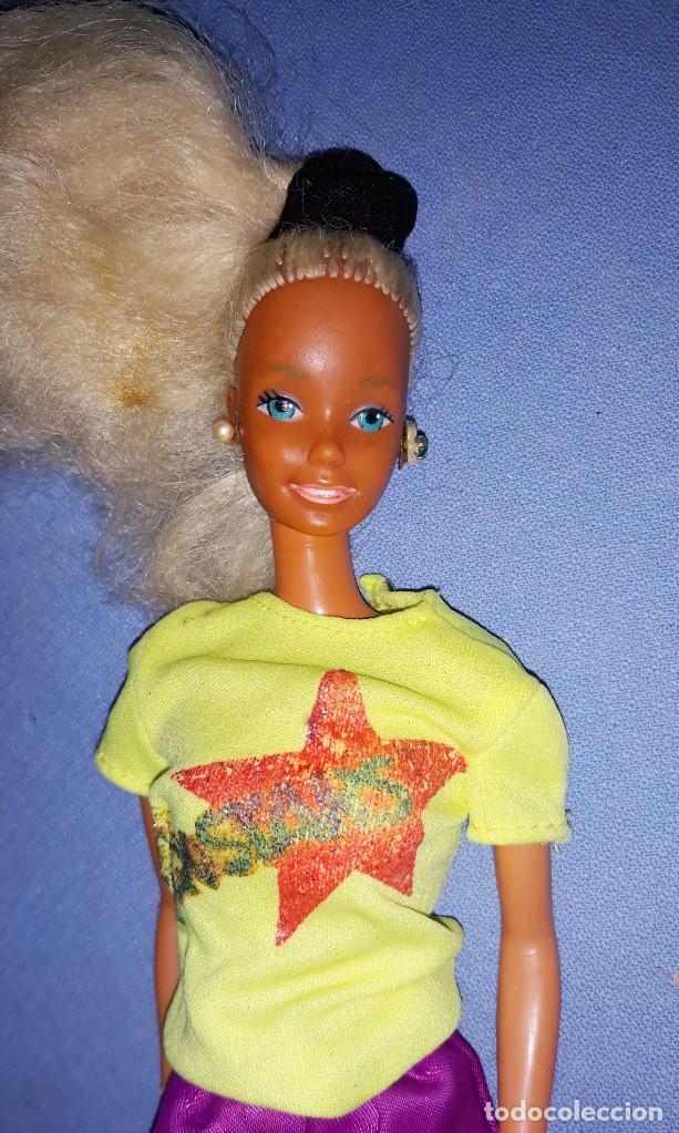 ANTIGUA BARBIE DE MATTEL ORIGINAL PRINCIPIOS AÑOS 80 ROCK STARS MADE IN SPAIN (Juguetes - Muñeca Extranjera Moderna - Barbie y Ken)