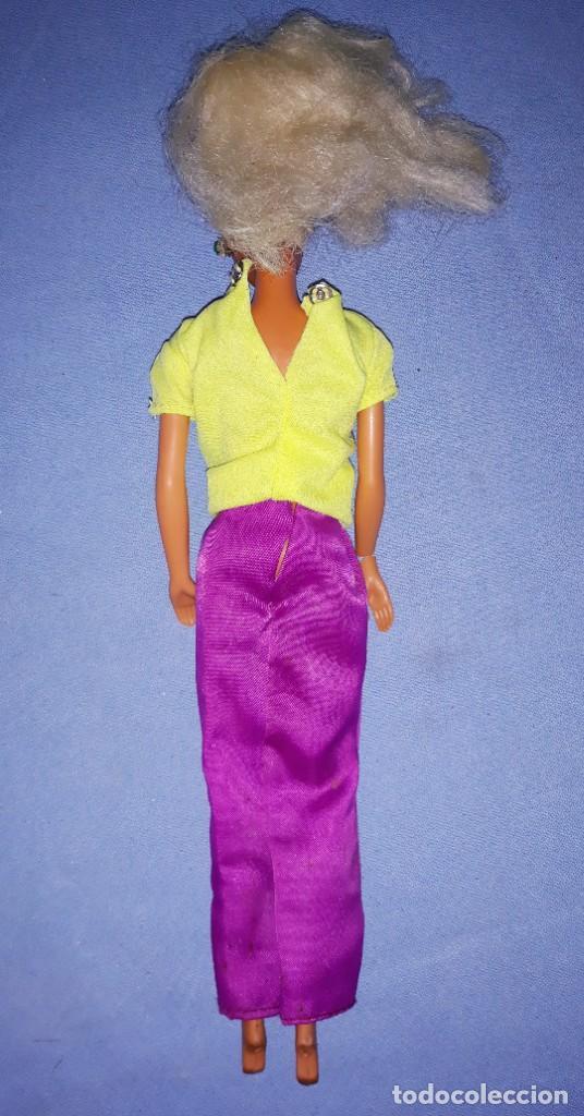 Barbie y Ken: ANTIGUA BARBIE DE MATTEL ORIGINAL PRINCIPIOS AÑOS 80 ROCK STARS MADE IN SPAIN - Foto 3 - 221930011