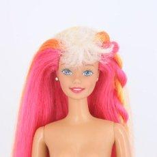 Barbie y Ken: BARBIE HULA HAIR CON UN PENDIENTE ORIGINAL - MATTEL, 1996. Lote 221957781