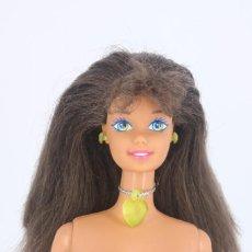 Barbie y Ken: BARBIE SWEETHEART BRUNETTE/ MORENA CON PENDIENTES Y COLLAR ORIGINALES - MATTEL, 1997. Lote 221958068