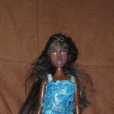 Barbie y Ken: BONITA MUÑECA BARBIE NEGRA MATTEL 2008. Lote 222285372