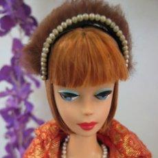 Barbie y Ken: MUÑECA BARBIE AMERICAN GIRL REPRO. & 1962 VINTAGE BARBIE GOLDEN ELEGANCE #992 COMPLETO. Lote 222291696
