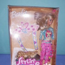 Barbie y Ken: BARBIE STYLIN PUP CON SU CAJA ORIGINAL DE MATTEL. Lote 222535542