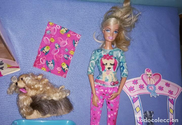Barbie y Ken: BARBIE STYLIN PUP CON SU CAJA ORIGINAL DE MATTEL - Foto 3 - 222535542