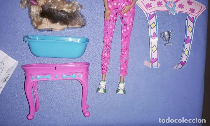 Barbie y Ken: BARBIE STYLIN PUP CON SU CAJA ORIGINAL DE MATTEL - Foto 4 - 222535542