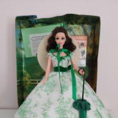 Barbie y Ken: BARBIE LO QUE EL VIENTO SE LLEVÓ SCARLETT O'HARA. Lote 222641838