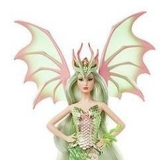 Barbie y Ken: BARBIE COLLECTOR MYTHICAL MUSE DRAGON EMPRESS. Lote 222748056