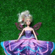 Barbie y Ken: MUÑECA BARBIE HADA ALAS MAGICAS DE MATTEL 2012. Lote 222802766