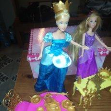 Barbie y Ken: LOTE PRINCESA DE DISNEY, BARBIE Y COMPLEMENTOS. Lote 222820121