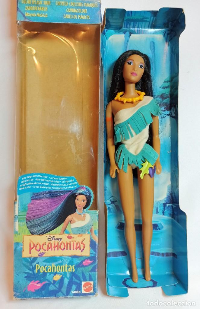 MUÑECA DISNEY POCAHONTAS MATTEL CABELLOS MAGICOS 28 CM (Juguetes - Muñeca Extranjera Moderna - Barbie y Ken)