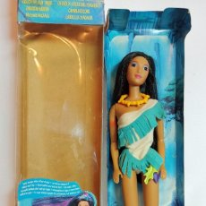 Barbie y Ken: MUÑECA DISNEY POCAHONTAS MATTEL CABELLOS MAGICOS 28 CM. Lote 223752442