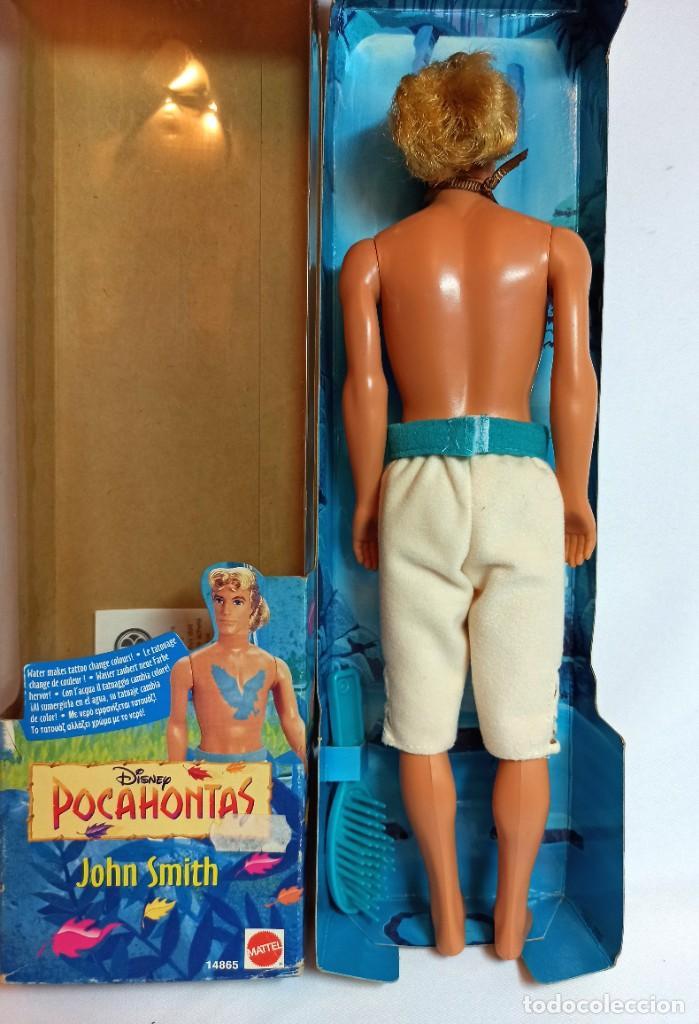 Barbie y Ken: Muñeca Disney John Smith de Pocahontas Mattel - Foto 4 - 223752551