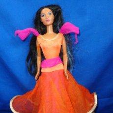 Barbie y Ken: BARBIE - ANTIGUA MUÑECA BARBIE POCAHONTAS DISNEY VER FOTOS! SM. Lote 224989000