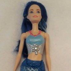 Barbie y Ken: BARBIE SIRENA CON COLA ARTICULADA. Lote 225196690