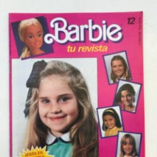 Barbie e Ken: REVISTA BARBIE - TU REVISTA - NÚMERO 12 - ENERO 1986 - MATTEL. Lote 225805725