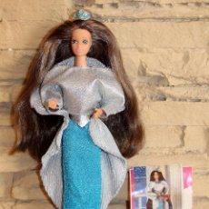 Barbie y Ken: ANTIGUA MUÑECA BARBIE - PRINCESA LAURA - MADE IN SPAIN - MATTEL - AÑOS 80 - DIFÍCIL - MUY COMPLETA. Lote 228110535