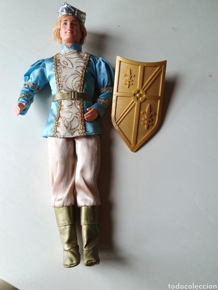 MUÑECO KEN DE MATTEL. PRINCIPE STEFAN. MECANISMO FUNCIONANDO. BARBIE (Juguetes - Muñeca Extranjera Moderna - Barbie y Ken)