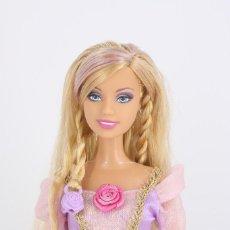 Barbie y Ken: BARBIE CUT & STYLE RAPUNZEL CON VESTIDO ORIGINAL - MATTEL, 2008. Lote 231261715