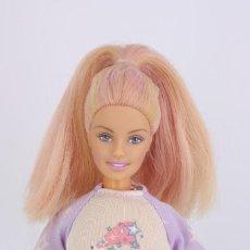 Barbie y Ken: BARBIE DREAM GLOW BEDTIME / DULCES SUEÑOS ROPA ORIGINAL - PELO BRILLA EN LA OSCURIDAD - MATTEL, 2002. Lote 231261860