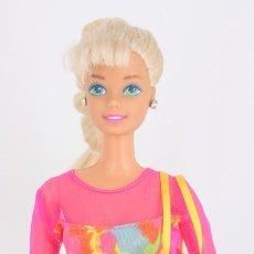 Barbie y Ken: BARBIE GYMNAST / GIMNASTA CON PENDIENTES Y PARTE DEL OUTFIT ORIGINAL - MATTEL, 1993. Lote 231261975