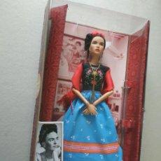 Barbie y Ken: MUÑECA BARBIE FRIDA KAHLO DE MATTEL. EN SU ESTUCHE.. Lote 233643695