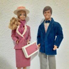 Barbie y Ken: BARBIE Y KEN DÍA Y NOCHE ROTOPLAST VENEZUELA. Lote 235791665