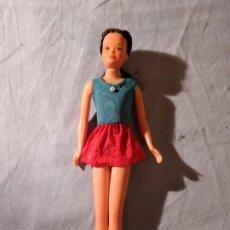 Barbie y Ken: MUÑECA SKIPPER MATTEL MADE IN HONG KONG 1974. Lote 235852625