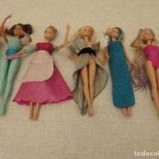 Barbie y Ken: BARBI DE MATTEL 6 UNIDADES. Lote 236012580