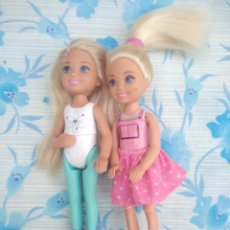 Barbie y Ken: LOTE DE 2 MUÑECAS CHELSEA HERMANITA DE BARBIE MATTEL. Lote 236913885
