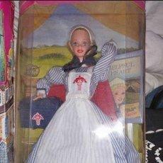 Barbie y Ken: BARBIE ENFERMERA CIVIL WAR NURSE MATTEL 1995 AMERICAN STORIES COLLECTION NUEVA EN CAJA NUNCA SACADA. Lote 238040200