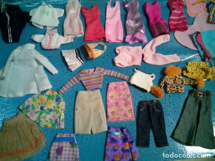 Barbie y Ken: LOTE BARBIE. ROPA DIVERSA. TODA LIMPIA LAVADA. PIEZAS ESPECIALES. - Foto 3 - 238338940