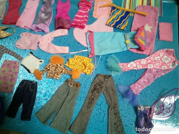 Barbie y Ken: LOTE BARBIE. ROPA DIVERSA. TODA LIMPIA LAVADA. PIEZAS ESPECIALES. - Foto 5 - 238338940