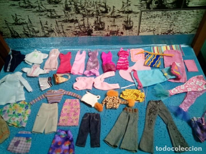 Barbie y Ken: LOTE BARBIE. ROPA DIVERSA. TODA LIMPIA LAVADA. PIEZAS ESPECIALES. - Foto 9 - 238338940