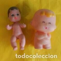 BEBE MATTEL 1973 CASTAÑO Y BEBE TOMY 1992 (Juguetes - Muñeca Extranjera Moderna - Barbie y Ken)