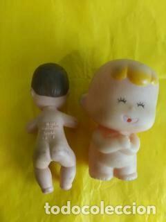 Barbie y Ken: bebe mattel 1973 castaño y bebe tomy 1992 - Foto 2 - 238423185