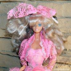 Barbie y Ken: ANTIGUA MUÑECA BARBIE LUCES Y ENCAJES - ROTOPLAST - VENEZUELA - AÑO 1990 - LIGHT AND LACE. Lote 238630465