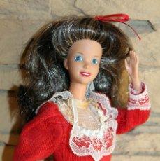 Barbie y Ken: ANTIGUA MUÑECA BARBIE MAMA FAMILIA CORAZON - ROTOPLAST - VENEZUELA - EDICION DE LUJO NAVIDAD. Lote 238714785